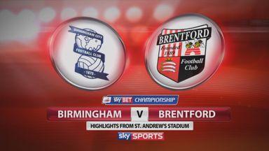 Birmingham 1-0 Brentford