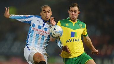 James Vaughan (left): Expected to return to Huddersfield's squad