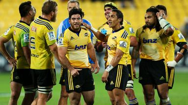 The Wellington Hurricanes will be looking to celebrate a first Super Rugby title on home soil on Saturday