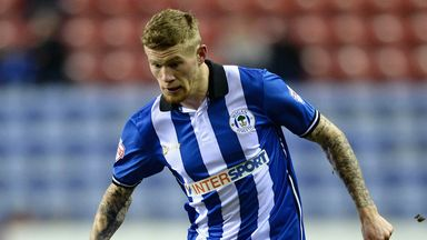James McClean: Leaves Wigan Athletic for West Brom