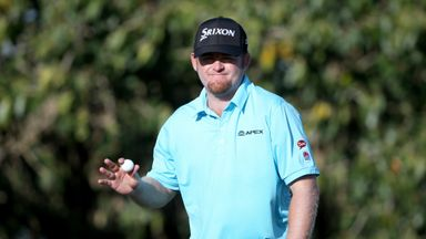JB Holmes: Eight birdies and an eagle on day one at the Blue Monster