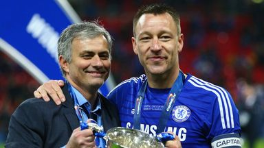 Jose Mourinho: Certain his captain will be at Stamford Bridge next season