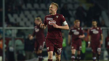 Kamil Glik celebrates his winning goal