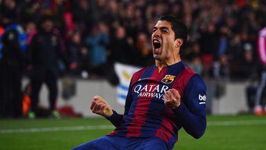 Luis Suarez: The man for the big occasion says Guillem Balague