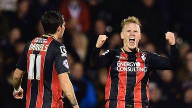 Matt Ritchie: Celebrates his first in irresistible Bournemouth win