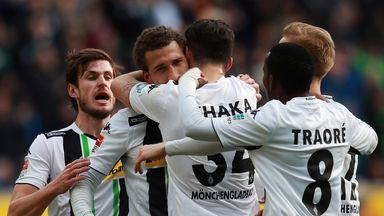 Celebrations for Borussia Monchengladbach