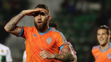 Nicolas Otamendi: Struck Valencia's equaliser