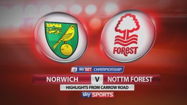 Norwich 3-1 Nottingham Forest