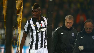 Paul Pogba: Could return to face Real Madrid