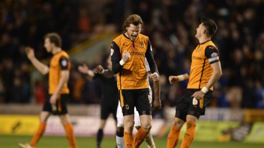 Richard Stearman (centre) is set to join Fulham after seven seasons at Wolves