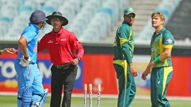 Rohit Sharma clashes with Australia