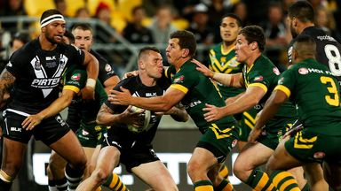 The world's top two rugby league nations, New Zealand and Australia, do battle in Wellington last November