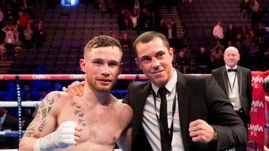Carl Frampton and Scott Quigg could box in Manchester and Belfast, says Hearn