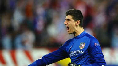 Thibaut Courtois spent three hugely successful years on loan at the Vicente Calderon between 2011 and 2014
