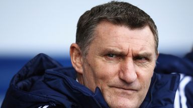 Tony Mowbray has taken charge of Coventry.