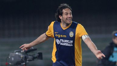 Luca Toni: Signed a new Verona deal.