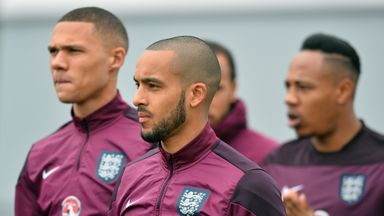 Theo Walcott: Desperate for a piece of the action in Italy on Tuesday