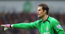 Asmir Begovic: Expected to leave Stoke this summer
