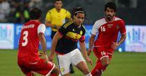 Radamel Falcao (centre): Has netted a flurry of goals on international duty