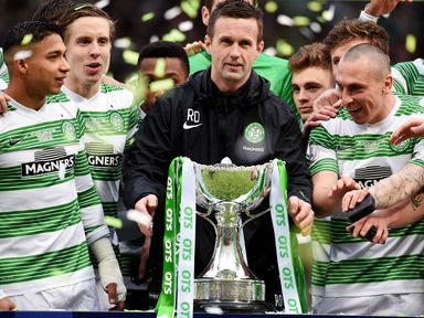 Celtic won the Scottish League Cup last season, beating Dundee United 2-0 in the final