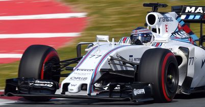 Williams end testing on top