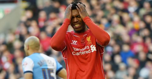 Daniel Sturridge is struggling with a hip injury