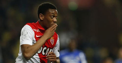 Anthony Martial: Signed a four-year deal