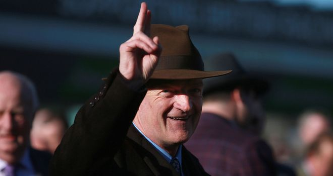 Willie Mullins has three possibles for the Royal Bond