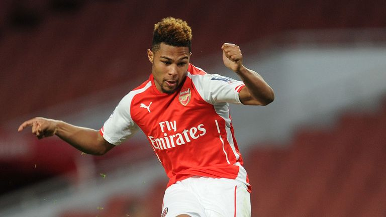 Serge Gnabry has made 18 appearance for Arsenal since joining in 2011