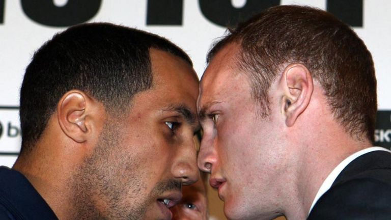 James DeGale and George Groves 2011 image