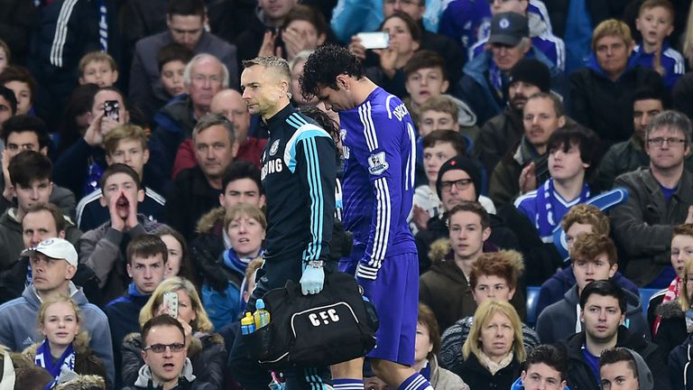Diego Costa: Jose Mourinho admitted last week it was a risk to bring back the striker for the game with Stoke
