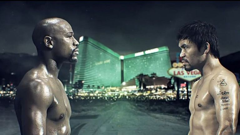 Floyd Mayweather and Manny Pacquiao was a super-fight on a similar level