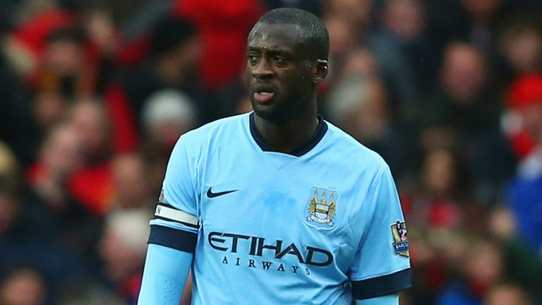 Yaya Toure has struggled for his best form at Man City this term
