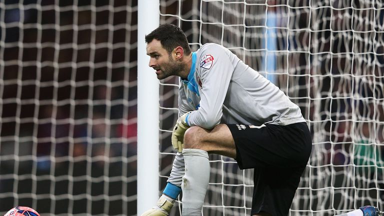 Joe Lewis has played five games for the England U21s