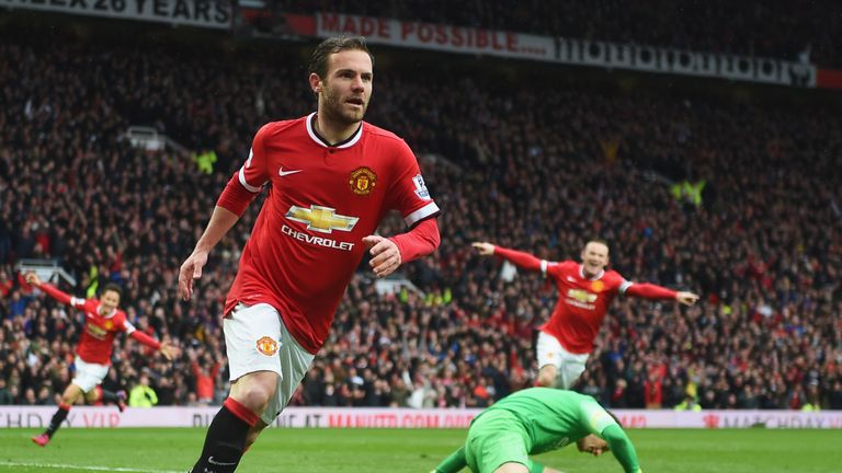 Juan Mata swapped Chelsea for Manchester United