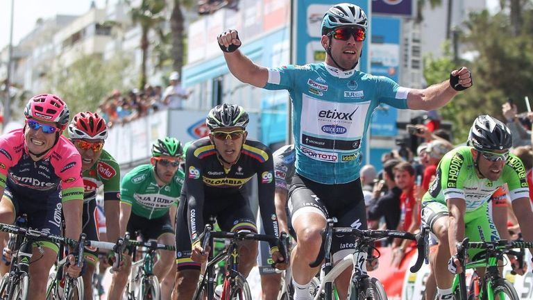 Mark Cavendish wins Tour of Turkey stage two to retain ...