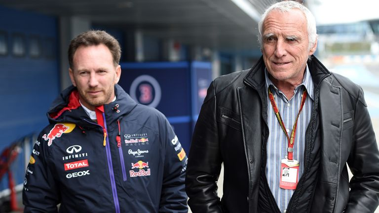 Christian Horner and Dietrich Mateschitz