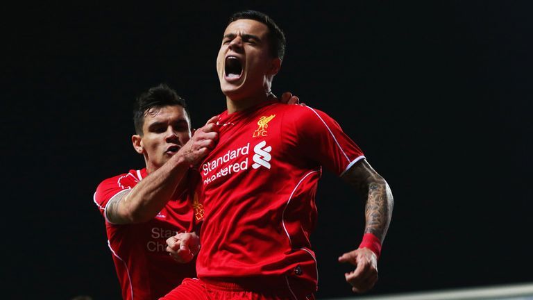 Philippe Coutinho is Liverpool's