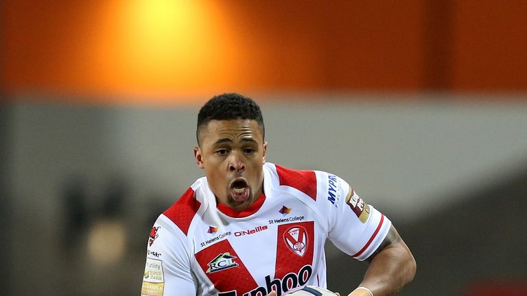 Jordan Turner: Scored St Helens' sole try in the win at Huddersfield