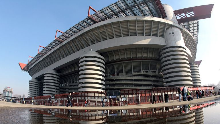 The San Siro in Milan will host the 2016 Champions League final in May