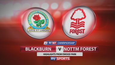 Blackburn 3-3 Nottingham Forest
