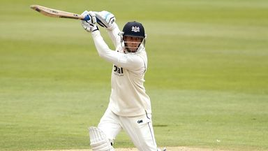 Chris Dent completed a final day century at Wantage Road