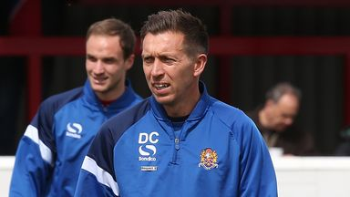 Darren Currie: Extremely pleased with performance