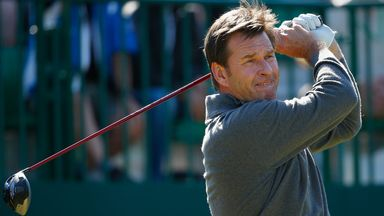 Nick Faldo: Will play 2015 Open Championship at St Andrews