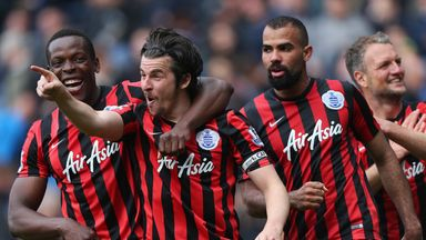 Joey Barton: Scored in QPR
