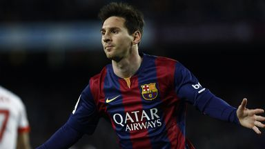 Lionel Messi insists he is happy with life at Barcelona
