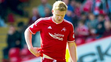 Aberdeen midfielder Barry Robson is banned for two matches
