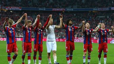 Bayern Munich: On course for a trophy treble