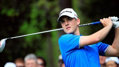 Bradley Neil: In action at Augusta