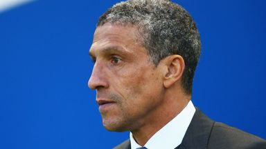 Chris Hughton: Keeping a close eye on the returning Andrew Crofts